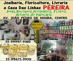 Joalheria e Floricultura Pereira