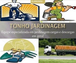 TONHO JARDINAGEM