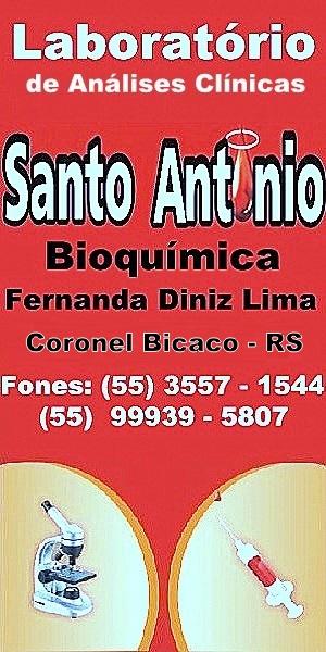 Laboratório Santo Antônio Análises Clínicas de Coronel Bicaco