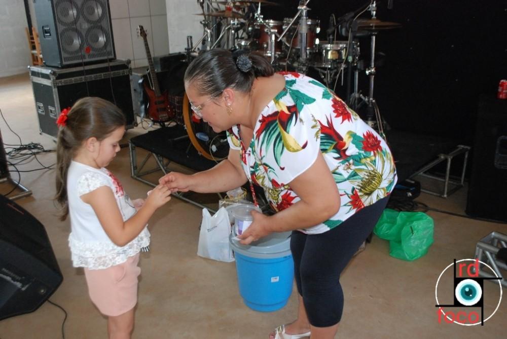 Festa da Capela Santa Paulina do Bairro Nove de Julho de Redentora