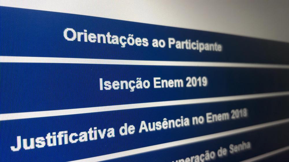 Podem pedir isenção candidatos em situação de vulnerabilidade socioeconômica | Foto: Lúcia Haggstrom / Especial