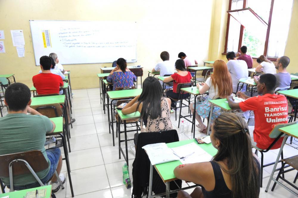 Exame avalia desempenho do estudante e viabiliza o acesso à educação superior | Foto: Mauro Schaefer / Correio do Povo / CP Memória