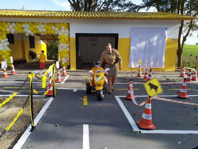 Escola de Trânsito poderá receber crianças de 27 cidades da região Celeiro | Foto: Leandro de Oliveira / Divulgação / CP