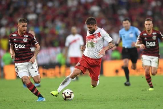 Rafael Sobis foi titular na partida desta quarta-feira - Ricardo Duarte / Divulgação / Internacional