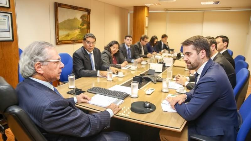 Leite admitiu que a negociação com o Tesouro é complexa | Foto: Rodger Timm / Governo do Estado / Divulgação