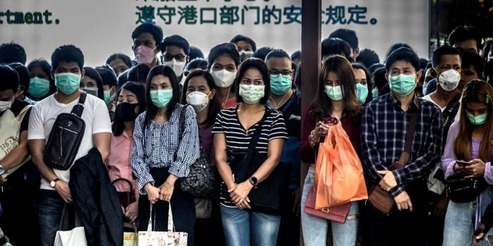 Província de Hubei, epicentro da contaminação, registrou 317 novos casos nesta quinta-feira, entre zero hora e 12 horas pelo horário local | Foto: Mladen Antonov / AFP / CP