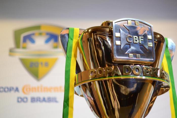 Copa do Brasil se inicia nesta quarta-feira e termina apenas em setembro Foto:Kin Saito / CBF/Divulgação