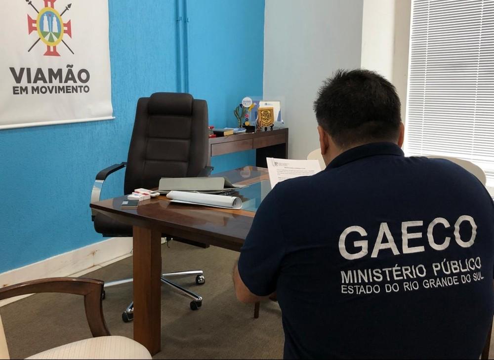 Operação cumpre ainda 20 mandados de busca e apreensão — Foto: Divulgação/MP