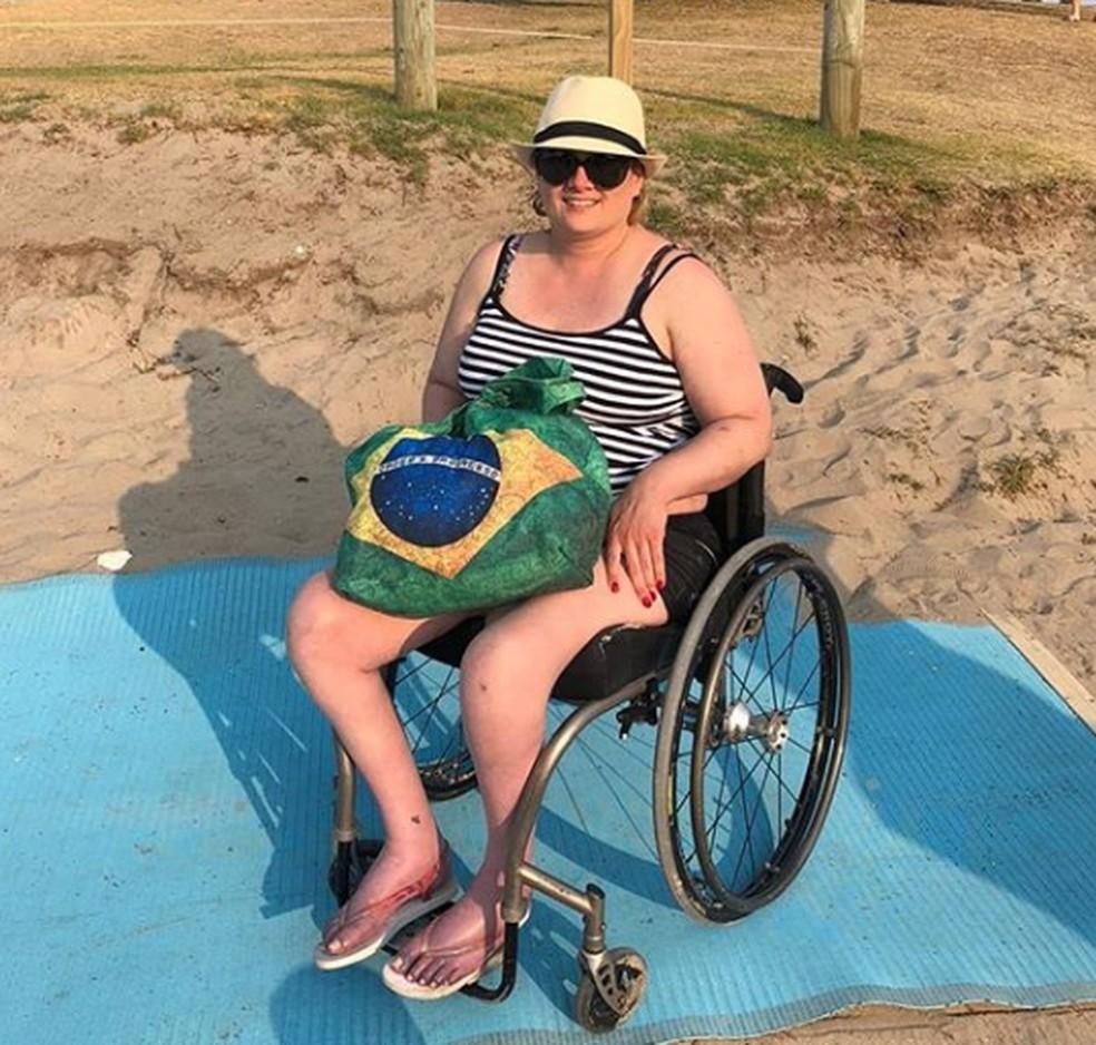 Juliana vive há sete anos na Nova Zelândia e teve o pedido de visto permanente negado pelo país — Foto: Arquivo Pessoal