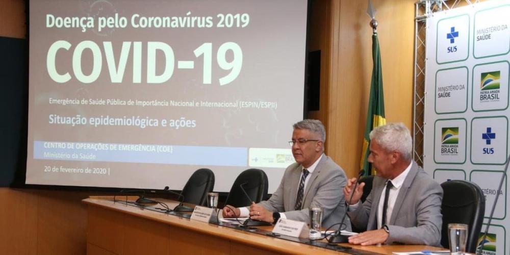 Dados foram divulgados pelo Ministério da Saúde durante coletiva do boletim epidemiológico nesta quinta-feira | Foto: Twitter / Divulgação / CP