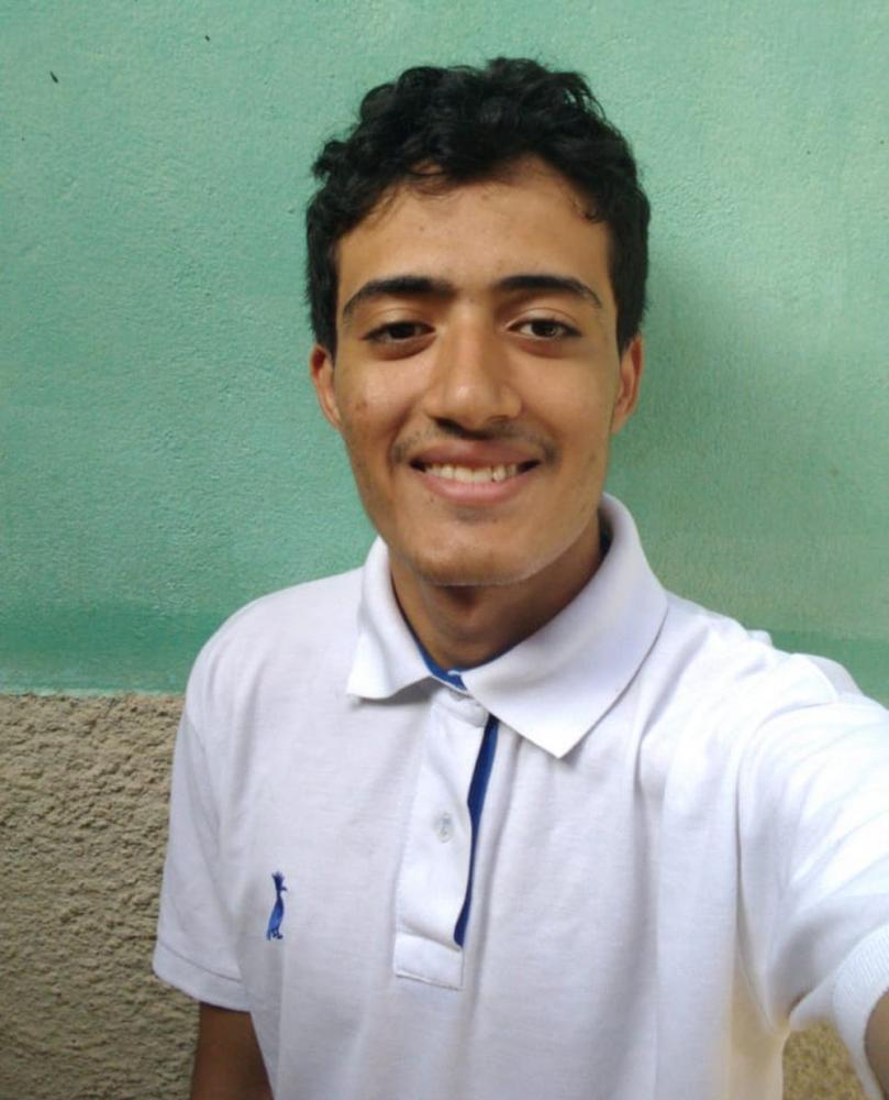 Valber Tiago Silva Sabóia, 19 anos, aprovado em Medicina na UFPI — Foto: Arquivo Pessoal