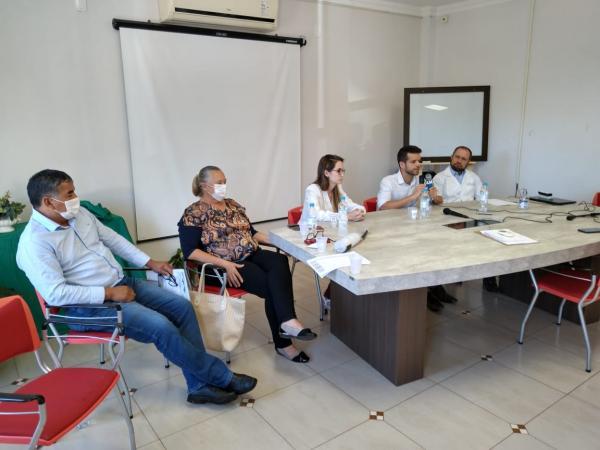 Coletiva de imprensa reuniu diretoria, médicos e integrantes da Terra Indígena - Foto: Sistema Província