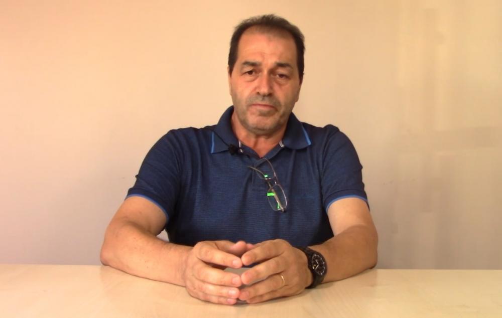 Presidente da Amuceleiro, Carlos Alberto Vigne. (Foto: Reprodução)