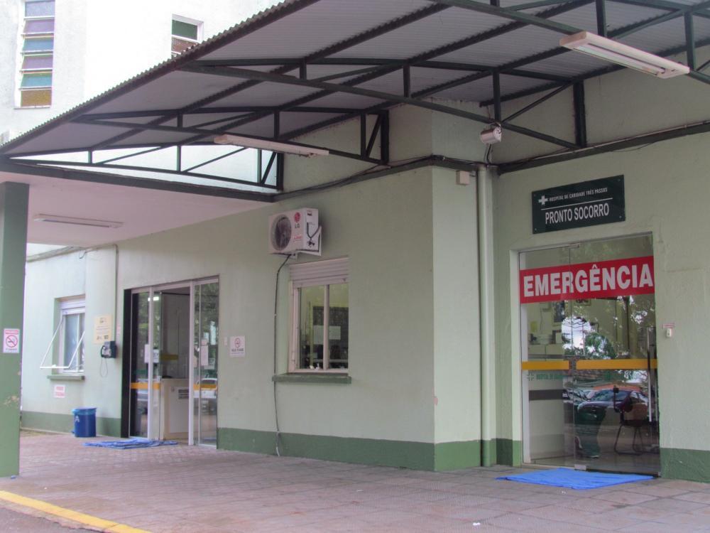 Mais um óbito por Covid-19 no Hospital de Caridade de Três Passos (Foto: Arquivo/Rádio Alto Uruguai)