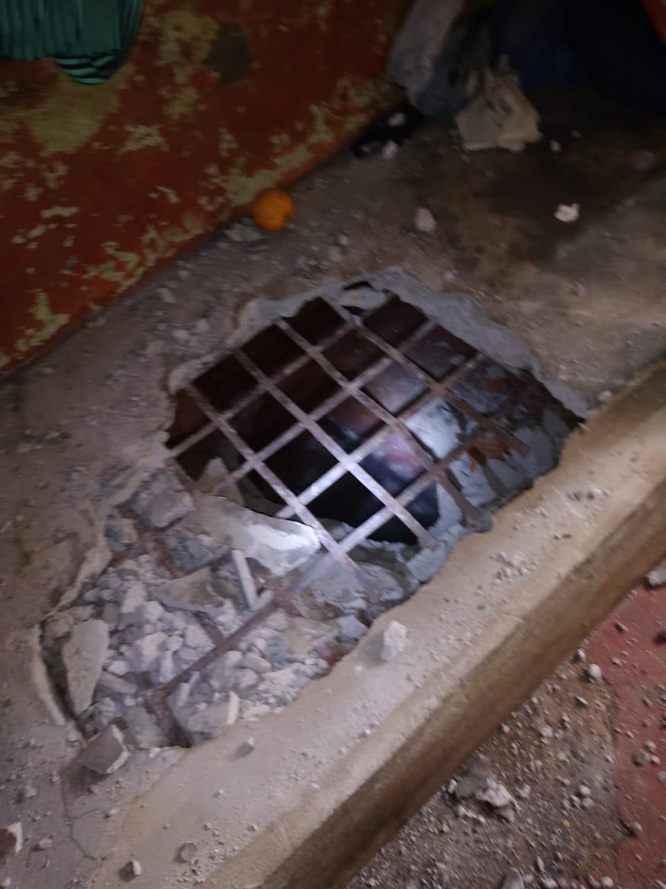 Agentes descobrem escavação de túnel e evitam possível fuga em presídio de Erechim
