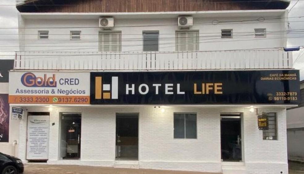 Hotel Life, de Ijuí, receberá pacientes com Covid-19 para isolamento — Foto: Divulgação