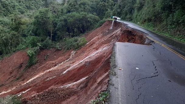 Deslizamento - Foto: Divulgação CRBM