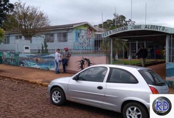 Escola Feliciano Jorge Alberto. Foto: RD Foco