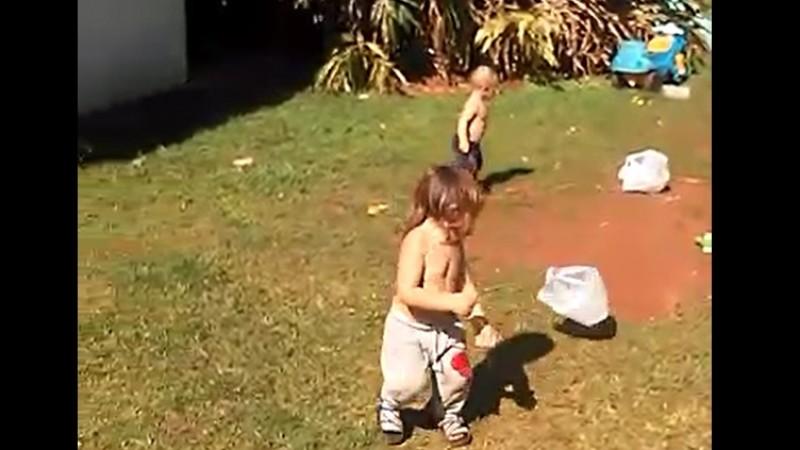 Filhos de Carmen são atendidos pelo PIM - Foto: Reprodução