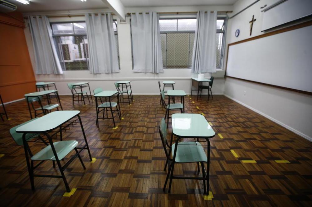 Ideia é retorno das aulas presenciais de forma escalonada, concluindo o processo em novembro Félix Zucco / Agencia RBS