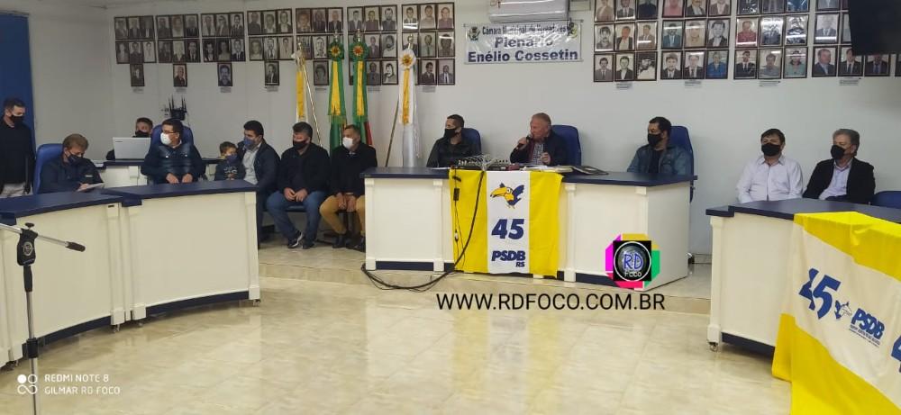 Com seis partidos na coligação, PSDB define Luiz Carlos Cordeiro Machado como candidato a prefeito em Redentora