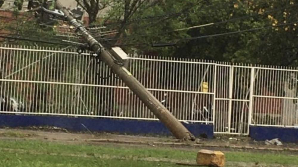 Temporal provocou estragos em vários municípios da região noroeste nessa quarta-feira