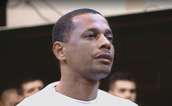Elias Maluco, condenado pelo assassinato do jornalista Tim Lopes. — Foto: Reprodução/ TV Globo