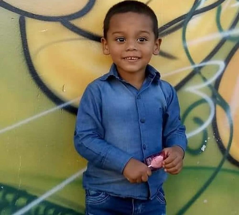 Cassiel Gass do Bomfim faria 5 anos no domingo (27) e morava ao lado da rodovia. — Foto: Arquivo pessoal