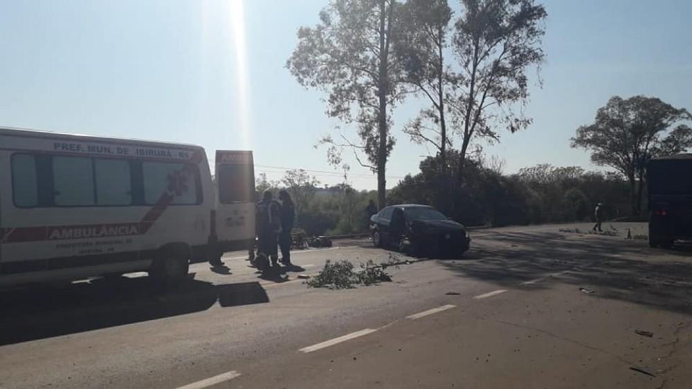 Bisavó de redentorense morre em acidente na ERS-223 entre Ibirubá e Cruz Alta