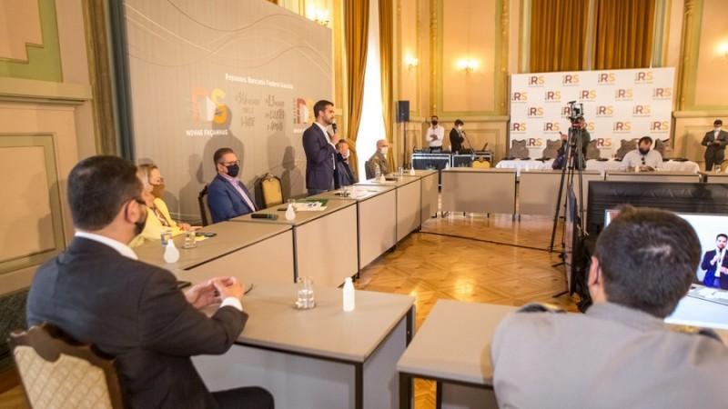 Recursos anunciados pelo governador devem ser aplicados exclusivamente no combate à Covid-19 - Foto: Gustavo Mansur / Palácio Piratini