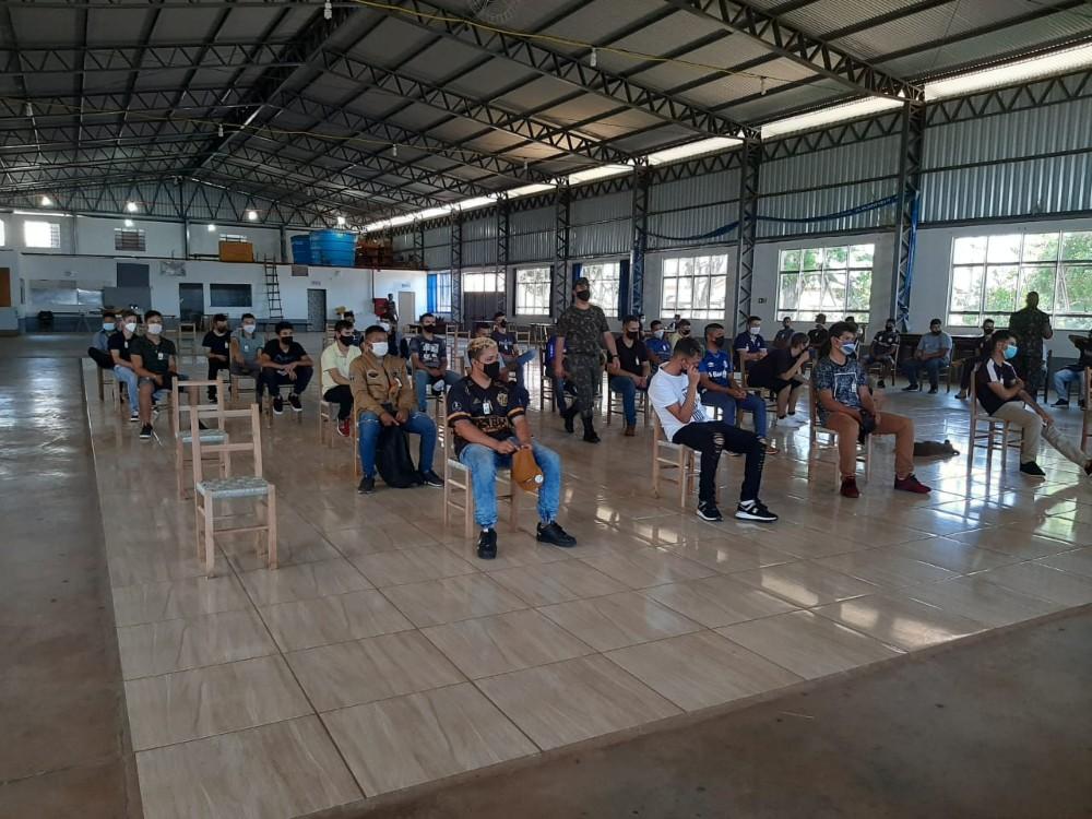 Exército faz seleção das Forças Armadas em Redentora