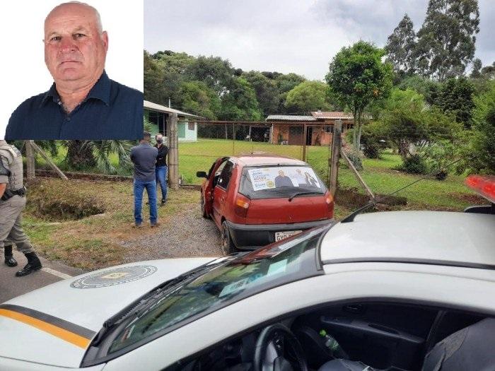 Foto do local do crime: Jornal O Florense. Foto da vítima: Divulgação