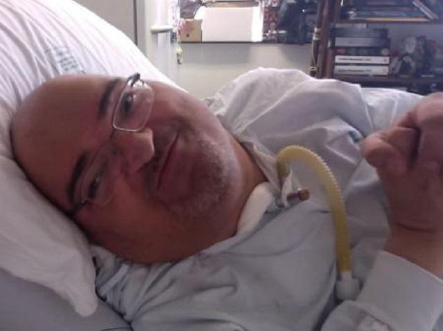 Paulo Henrique Machado, paciente que morou por 51 anos no HC devido a sequelas da poliomielite, morreu nesta quarta — Foto: Reprodução/TV Globo