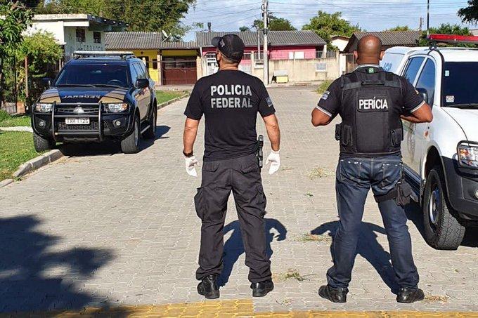 O homem foi indiciado por estupro de vulnerável, produção e armazenamento de conteúdo pornográfico infantil Foto: PF/Divulgação