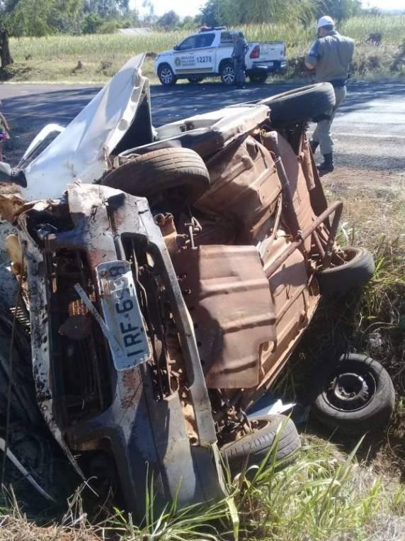 Homem morre em acidente de trânsito na ERS 536, em Caibaté