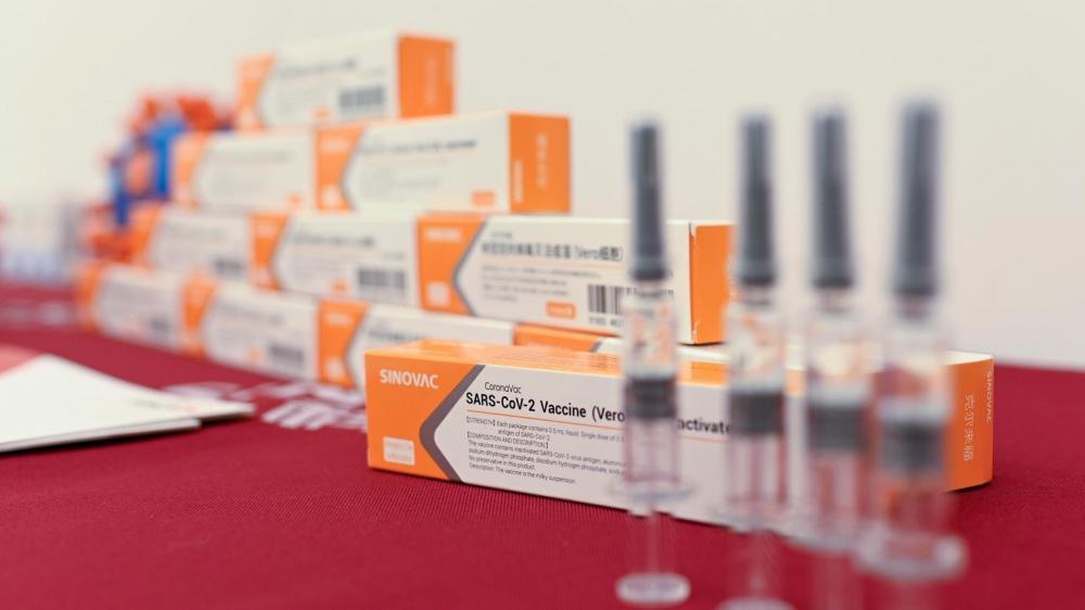 Este é o primeiro pedido de vacina contra a pandemia no Brasil | Foto: Wang Zhao/AFP