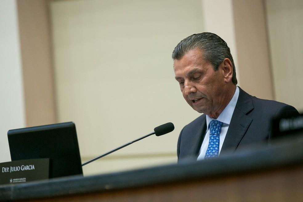 Presidência da Alesc, Julio Garcia (Foto: Rodolfo Espínola)