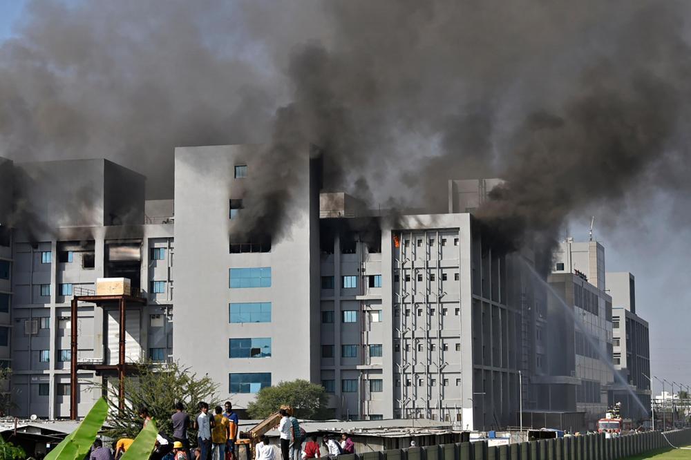 A causa do incêndio está sendo investigada | Foto: AFP