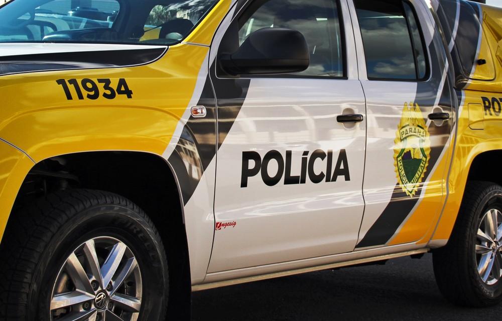 Criança foi baleada durante a madrugada, em Curitiba — Foto: Divulgação/PMPR