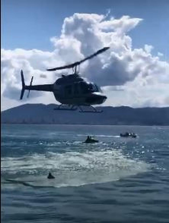 Anac investiga tentativa de pouso de helicóptero em píer de SC