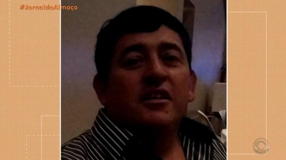 Idemar da Silva foi internado no sábado (20) e morreu na manhã de segunda (22), aos 50 anos — Foto: Reprodução/RBS TV
