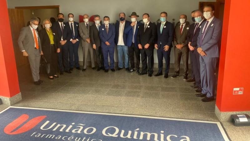 Secretária Ana Amélia Lemos representou o governador Eduardo Leite na visita à unidade no Distrito Federal - Foto: UQ / Divulgação