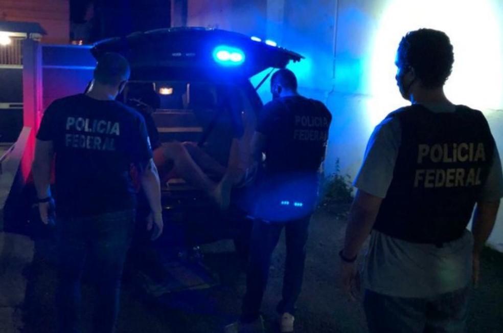 Procurado pela Interpol foi encontrado em Santana do Livramento — Foto: PF/Divulgação