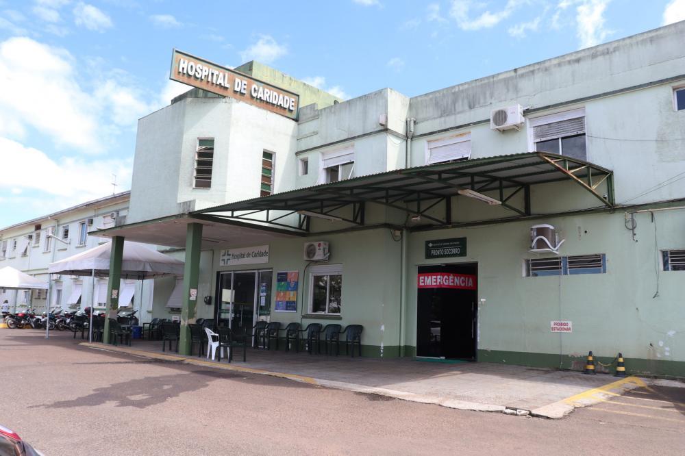 Hospital de Caridade de Três Passos (Foto: Rádio Alto Uruguai)