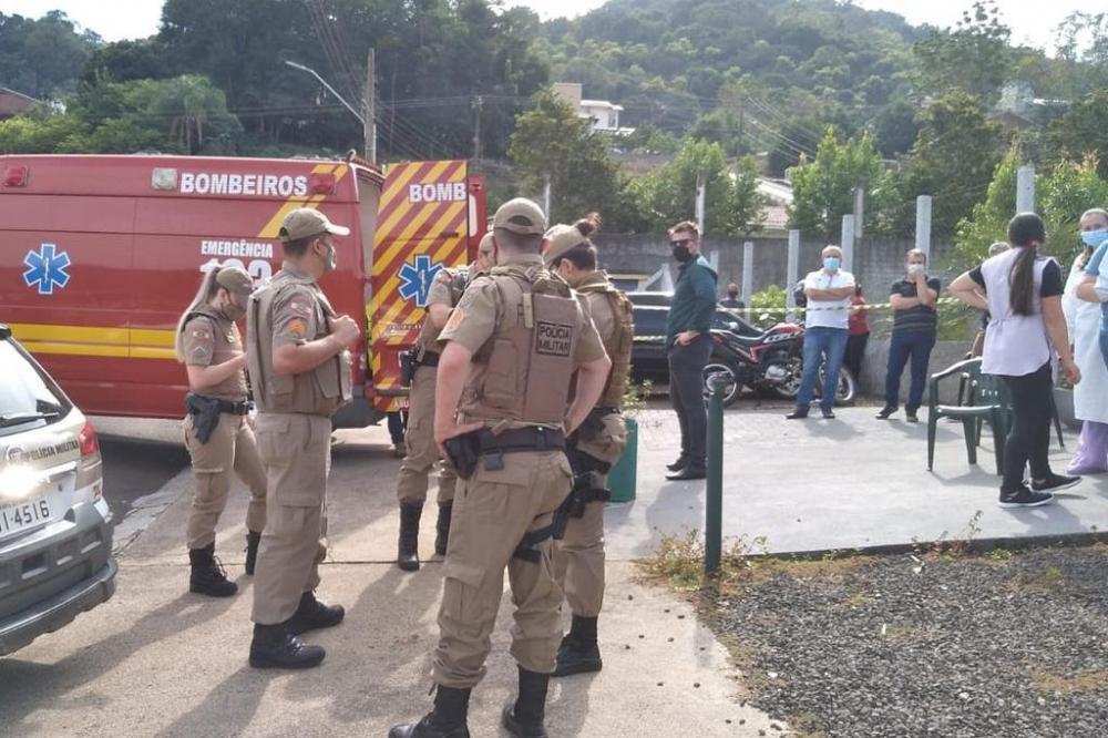 Crime aconteceu por volta das 10h desta terça-feira. Foto: Jornal e TV A Sua Voz / Divulgação