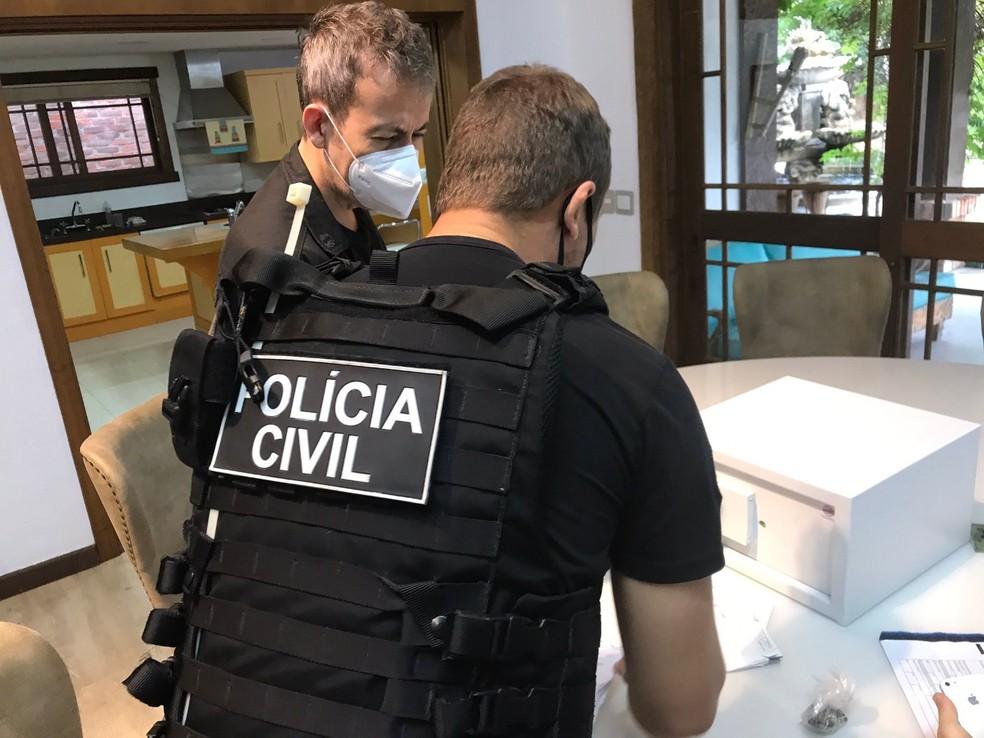 Operação ocorre em várias cidades do estado — Foto: Divulgação/Polícia Civil