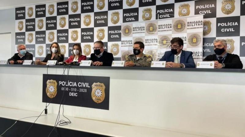 As prisões são resultado de uma operação integrada entre as forças de segurança do estado - Foto: Carlos Vogt/Polícia Civil