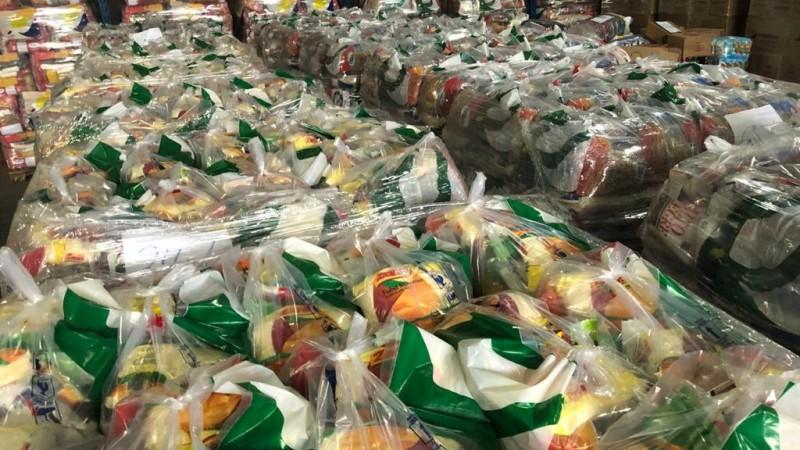 Defesa Civil já iniciou operação para enviar 10 mil cestas básicas para 154 municípios em situação de emergência - Foto: Divulgação / Defesa Civil