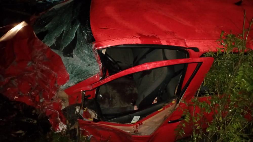 Erval Seco: Colisão frontal deixa feridos na ERS 585 e pista interditada por quase uma hora - RD Foco