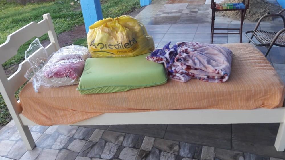 Família que pediu ajuda recebeu doações da comunidade